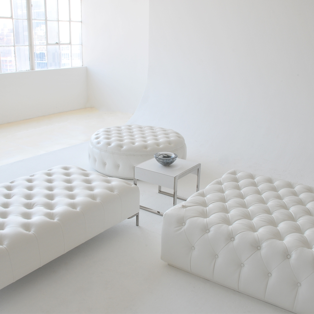 tufted collection white