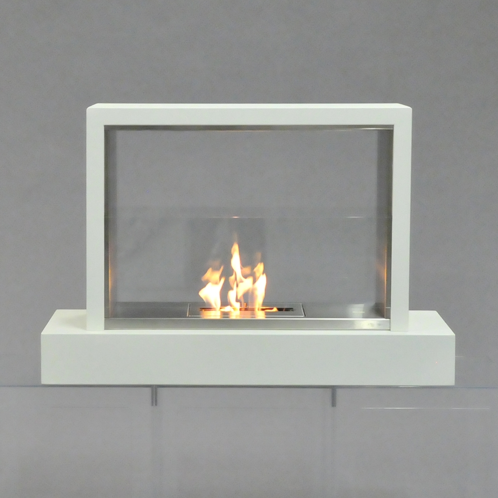 fireplace white