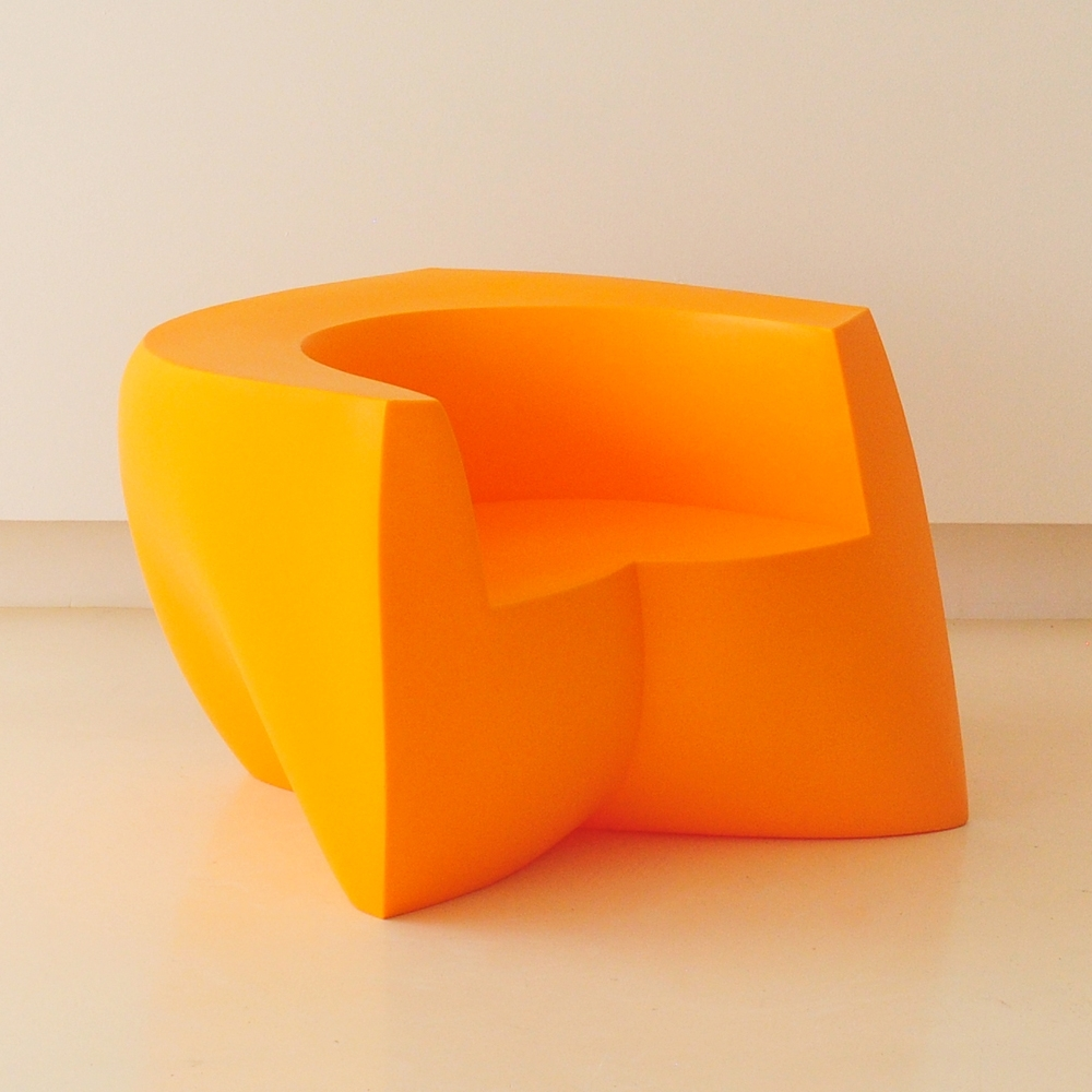 gehry easy chair orange