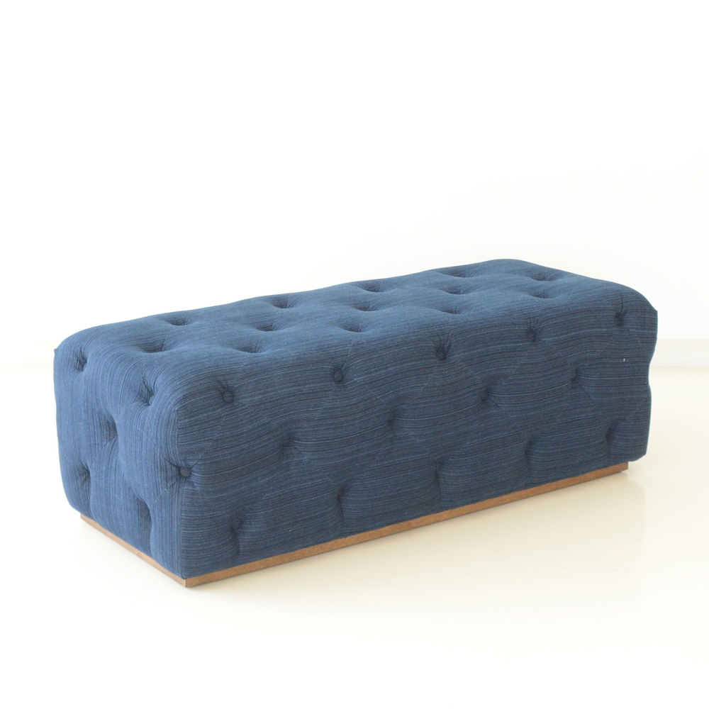 griffin tufted bench