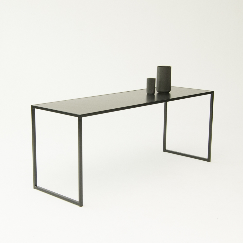 bedford table black