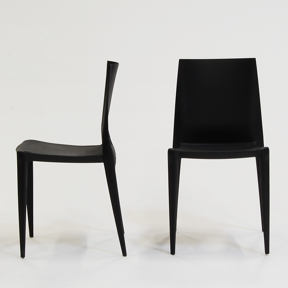 bellini chair black matte